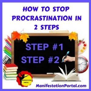 2 Steps To Stop Procrastination