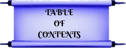 Table Of Contents Fro Manifestation Portal