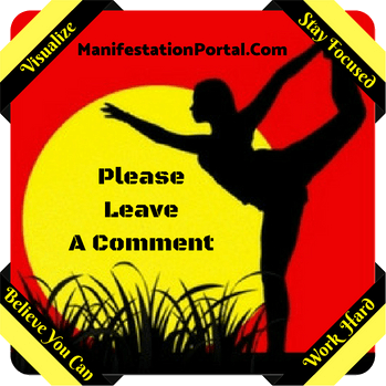 Leave A Comment At Manifestation Portal