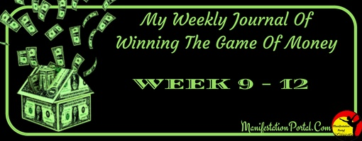 Winning The Game Of Money Week 9 To 12