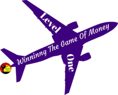 Airplane With Winning The GameOf Money On It