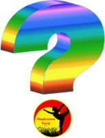 Rainbow Question Mark