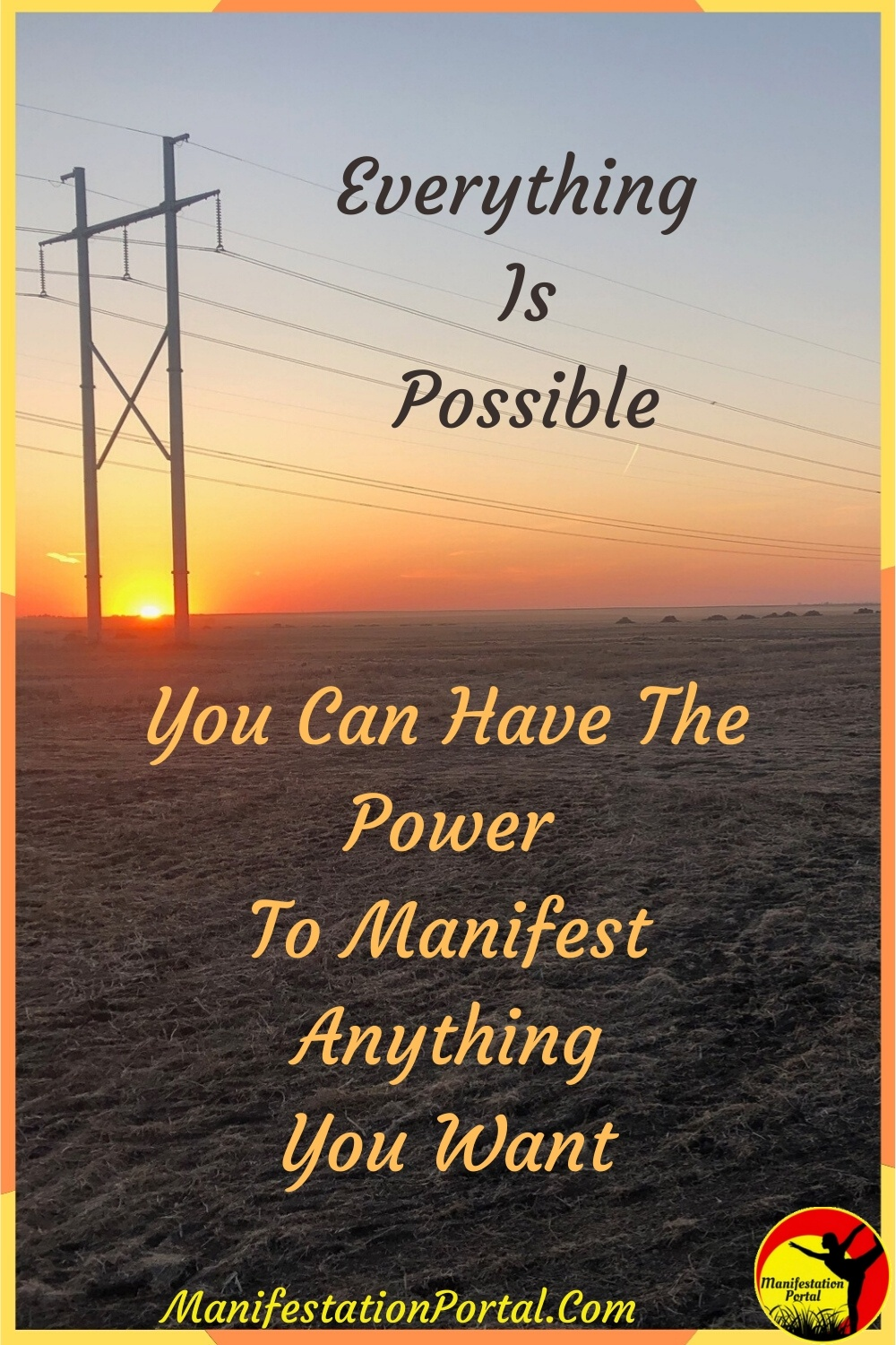 Power to Manifest Anything